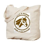 Ride A Maldivian Tote Bag