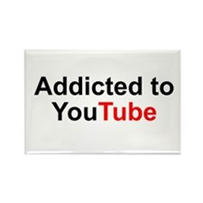 Cute Youtube Rectangle Magnet