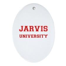 JARVIS UNIVERSITY Oval Ornament