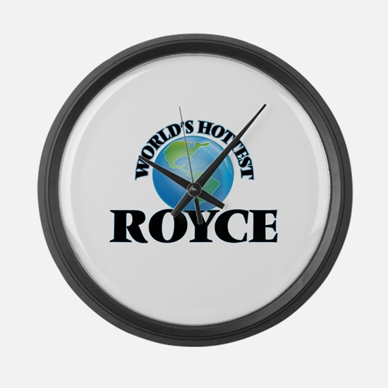 World's Hottest Royce Large Wall Clock