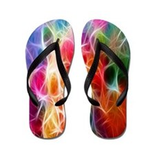 Cute Hippy Flip Flops