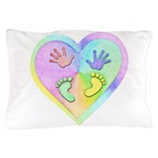 Unique Footprint Pillow Case