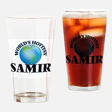World's Hottest Samir Drinking Glass