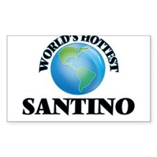 World's Hottest Santino Decal
