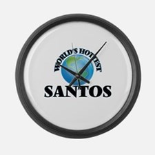 World's Hottest Santos Large Wall Clock