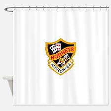 va-44_hornets.png Shower Curtain