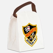 va-44_hornets.png Canvas Lunch Bag