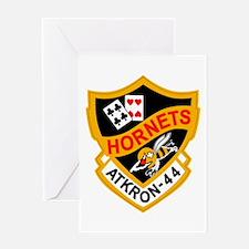 va-44_hornets Greeting Cards