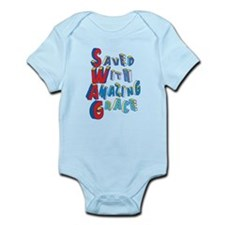 SWAG - saved with amazing grace Body Suit