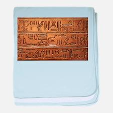 Hieroglyphs 2014-1020 baby blanket