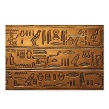 Hieroglyphs 2014-1020 Postcards (Package of 8)