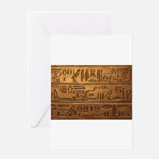 Hieroglyphs 2014-1020 Greeting Cards