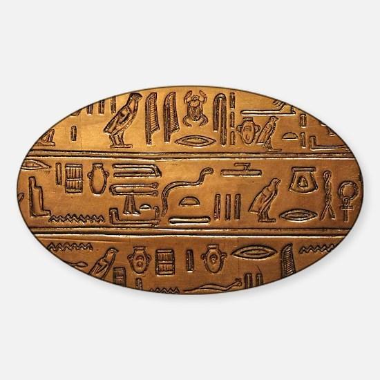 Hieroglyphs 2014-1020 Bumper Stickers