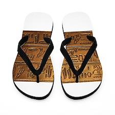 Hieroglyphs 2014-1020 Flip Flops