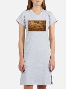 Hieroglyphs 2014-1020 Women's Nightshirt