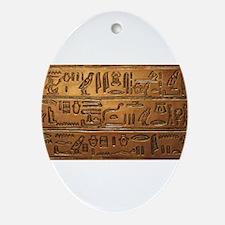 Hieroglyphs 2014-1020 Ornament (Oval)