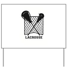 Lacrosse by Other Sports & Stuff LLC Yard Sign