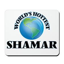 World's Hottest Shamar Mousepad