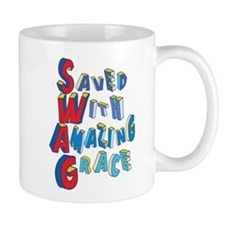 SWAG - saved with amazing grace Mugs