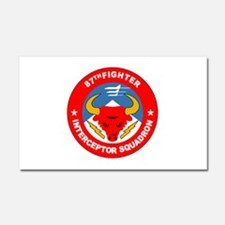 87th_interceptor_squadron.png Car Magnet 20 x 12