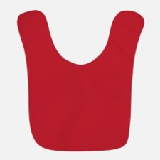 Cardinal Red Solid Color Bib