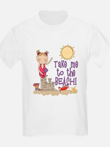 To the Beach (Girl) T-Shirt
