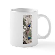 12thC Peacocks Peonies Mugs