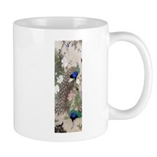 12thC Peacocks Peonies Mugs