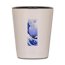 Surf's Up! Great Wave Hokusai Shot Glass