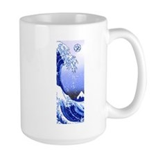 Surf's Up! Great Wave Hokusai Mugs