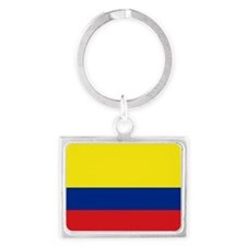 Colombia National Flag Landscape Keychain