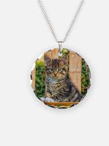 Pot Of Baby Kitten Necklace