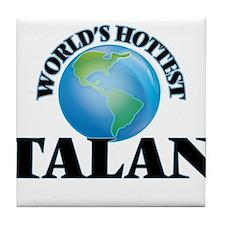 World's Hottest Talan Tile Coaster