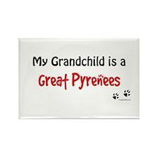 Pyrenees Grandchild Rectangle Magnet
