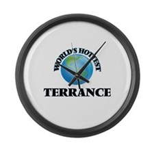 World's Hottest Terrance Large Wall Clock