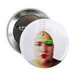 "2.25"" Bald Button (100 pack)"