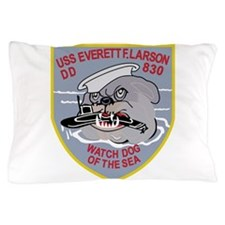 DD-830 USS EVERETT F LARSON Destroyer Pillow Case