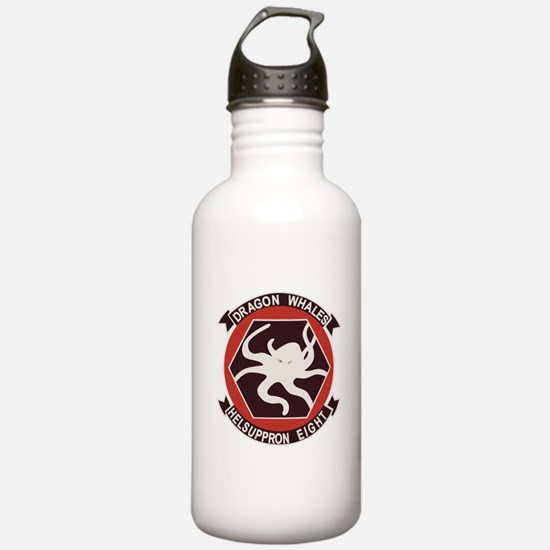 hc-8_DRAGON_WHALES.png Water Bottle