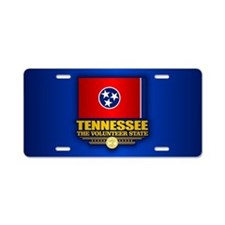 Tennessee (v15) Aluminum License Plate