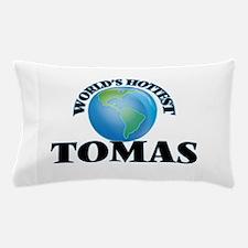 World's Hottest Tomas Pillow Case