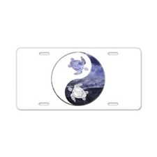 YN Turtle-01 Aluminum License Plate
