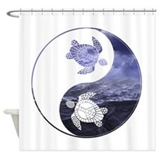 YN Turtle-01 Shower Curtain