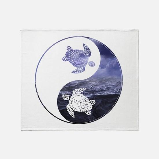 YN Turtle-01 Throw Blanket