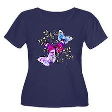 Papillons Plus Size T-Shirt