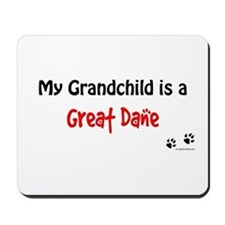 Great Dane Grandchild Mousepad