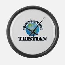 World's Hottest Tristian Large Wall Clock