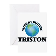 World's Hottest Triston Greeting Cards