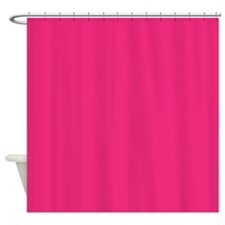 French Rose Pink Shower Curtain