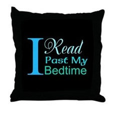 Rebel Reader Throw Pillow