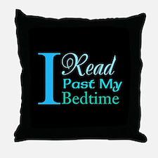 Rebel Reader Throw Pillow